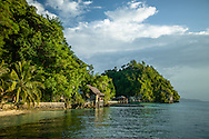 Indonesia, Sulawesi. Kadidiri - one of the paradise Togean Islands.