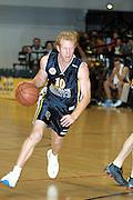 NBL Basketball 2002<br />Nelson Giants v Wellington Saints at Queens Wharf Event Centre in Wellington, 20/4/02<br />Robert Dahlberg<br /><br />Pic: Sandra Teddy/Photosport<br />*digital image*