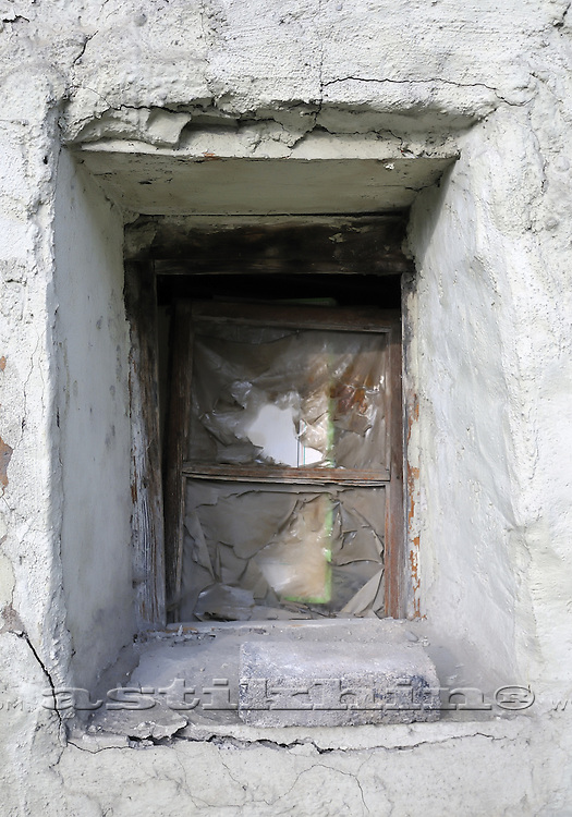 Old country window.