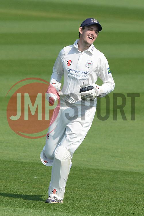 Gloucestershire's Gareth Roderick - Photo mandatory by-line: Dougie Allward/JMP - Mobile: 07966 386802 - 09/04/2015 - SPORT - Cricket - Bristol - County Cricket Ground - Gloucestershire County Cricket Club v Cardiff MCCU - Marylebone Cricket Club University Matches