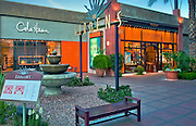 The Gardens, El Paseo Drive, Palm Desert; Boutiques; Cole Haan, L'Occitane; near Palm Springs; famous; retailers; fashion; haute couture; shopping; CA; California; Coachella Valley; Desert;