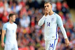 Jordan Henderson of England looks dejected - Mandatory byline: Matt McNulty/JMP - 07966386802 - 22/05/2016 - FOOTBALL - Etihad Stadium -Manchester,England - England v Turkey - International Friendly