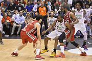 DESCRIZIONE : Campionato 2013/14 Quarti di Finale GARA 2 Olimpia EA7 Emporio Armani Milano - Giorgio Tesi Group Pistoia<br /> GIOCATORE : Alessandro Gentile Samardo Samuels<br /> CATEGORIA : Palleggio Blocco Controcampo<br /> SQUADRA : Olimpia EA7 Emporio Armani Milano<br /> EVENTO : LegaBasket Serie A Beko Playoff 2013/2014<br /> GARA : Olimpia EA7 Emporio Armani Milano - Giorgio Tesi Group Pistoia<br /> DATA : 21/05/2014<br /> SPORT : Pallacanestro <br /> AUTORE : Agenzia Ciamillo-Castoria / GiulioCiamillo<br /> Galleria : LegaBasket Serie A Beko Playoff 2013/2014<br /> Fotonotizia : Campionato 2013/14 Quarti di Finale GARA 2 Olimpia EA7 Emporio Armani Milano - Giorgio Tesi Group Pistoia<br /> Predefinita :