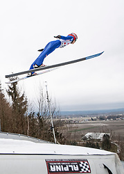 03.02.2019, Energie AG Skisprung Arena, Hinzenbach, AUT, FIS Weltcup Ski Sprung, Damen, im Bild Eva Pinkelnig (AUT) // Eva Pinkelnig (AUT) during the woman's Jump of FIS Ski Jumping World Cup at the Energie AG Skisprung Arena in Hinzenbach, Austria on 2019/02/03. EXPA Pictures © 2019, PhotoCredit: EXPA/ Reinhard Eisenbauer