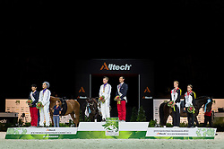 Podium  - Individuals Men Final Vaulting - Alltech FEI World Equestrian Games™ 2014 - Normandy, France.<br /> © Hippo Foto Team - Jon Stroud<br /> 05/09/2014