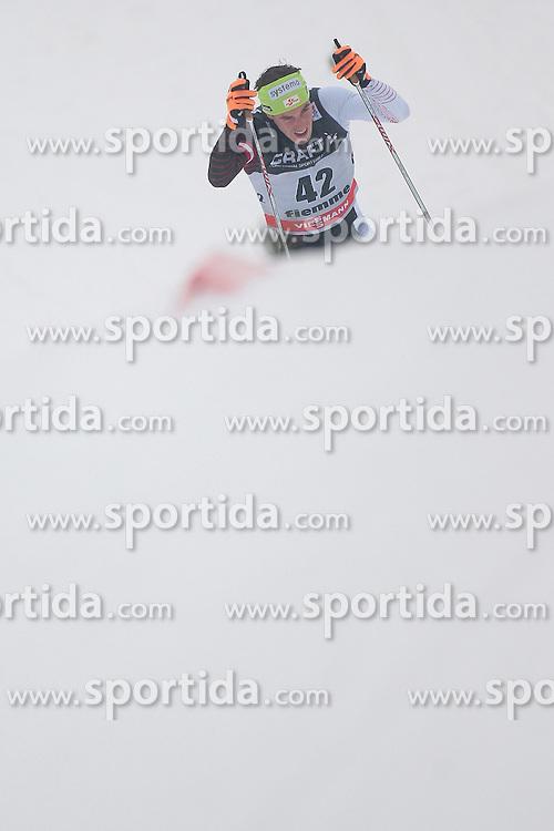 04.01.2014, Langlaufstadion, Lago di Tesero, ITA, FIS Langlauf Weltcup, Tour de Ski, Langlauf Herren, Individual Start 10Km, im Bild Duerr Johannes (AUT) // during the Men 10 km Cross Country of the Tour de Ski 2014 of FIS Cross Country World Cup at the Cross Country Stadium, Lago di Tesero, Italy on 2014/01/04. EXPA Pictures  ©  2014, PhotoCredit: EXPA/ Federico Modica