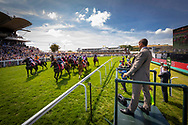 The Betting Podcast Goodwood Handicap Stakes underway at the Qatar Goodwood Festival.<br /> Picture date: Wednesday August 1, 2018.<br /> Photograph by Christopher Ison ©<br /> 07544044177<br /> chris@christopherison.com<br /> www.christopherison.com