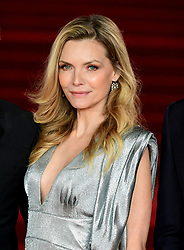 Michelle Pfeiffer attending the world premiere of Murder On The Orient Express at the Royal Albert Hall, London.
