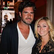 NLD/Amsterdam/20120911- Uitreiking Elegance Awards 2012, Dominique van Hulst en partner Mark Verschoor