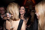 LAURA BAILEY, VOGUE.COM'S 15TH BIRTHDAY. W Hotel, Leicester Sq. London. 17 February 2011. -DO NOT ARCHIVE-© Copyright Photograph by Dafydd Jones. 248 Clapham Rd. London SW9 0PZ. Tel 0207 820 0771. www.dafjones.com.