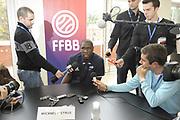 DESCRIZIONE : Equipe de France Homme Insep Conference de Presse<br /> GIOCATORE : Mickael Pietrus<br /> SQUADRA : France Homme <br /> EVENTO : Preparation Euro Lituanie<br /> GARA : <br /> DATA : 13/07/2011<br /> CATEGORIA : Basketball France Homme<br /> SPORT : Basketball<br /> AUTORE : JF Molliere FFBB<br /> Galleria : France Basket 2010-2011 Reportage<br /> Fotonotizia : Equipe de France Homme Insep Conference de Presse<br /> Predefinita :