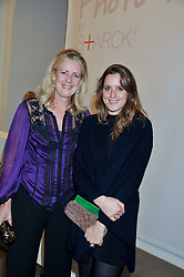 "Left to right, MARIE CLARE AGNEW and her daughter CLARISSA AGNEW at the launch of ""Photo-Me by Starck"" – a photobooth exclusively designed by the world renowned artist and creator Philippe Starck held at The Saatchi Gallery, Duke Of York Square, Kings Road, London on 2nd November 2011."
