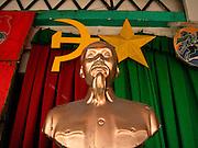 Vietnam, Ho Chi Min City:Ho Chi Min statue.