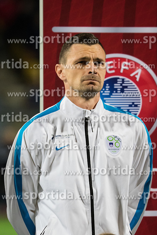 Milivoje Novakovic (SLO) during the UEFA EURO 2016 Play-off for Final Tournament, Second leg between Slovenia and Ukraine, on November 17, 2015 in Stadium Ljudski vrt, Maribor, Slovenia. Photo by Ziga Zupan / Sportida