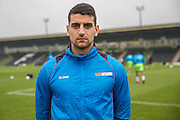 Forest Green Rovers New signing Omar Bugiel(11) during the Vanarama National League match between Forest Green Rovers and Boreham Wood at the New Lawn, Forest Green, United Kingdom on 11 February 2017. Photo by Shane Healey.