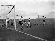 17/03/55<br /> 03/17/1955<br /> 17 March 1955 <br /> League of Ireland v Irish League at Dalymount Park, Dublin.