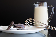 A little bit of high-quality chocolate goes a long way in many desserts - soufflee, pots de creme, gelato...