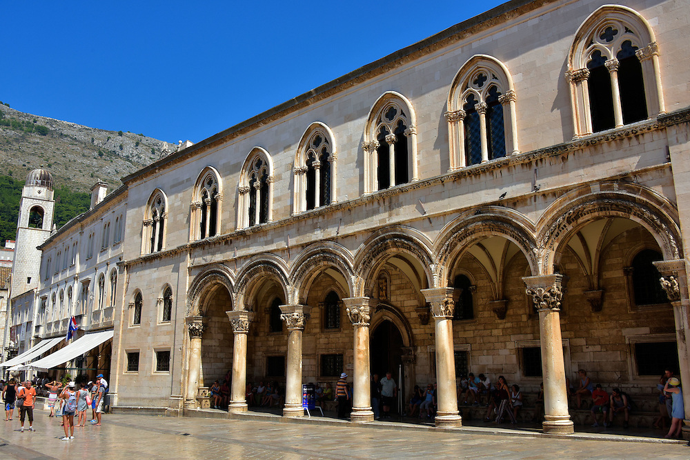 Rector&rsquo;s Palace in Dubrovnik, Croatia<br />
