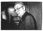 David Coleridge (the Chairman of Lloyds) July 1991© Copyright Photograph by Dafydd Jones 66 Stockwell Park Rd. London SW9 0DA Tel 020 7733 0108 www.dafjones.com