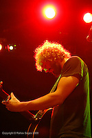Phosphorescent aka Matthew Houck performing at The Music Hall of Williamsburg on September 5, 2009