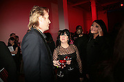 Rhys Ifans, Fran Cutler and Martine McCutcheon,  Whitechapel and Hogan present Art Pls Drama Party 2007. Whitechapel Gallery. London. 8 March 2007. -DO NOT ARCHIVE-© Copyright Photograph by Dafydd Jones. 248 Clapham Rd. London SW9 0PZ. Tel 0207 820 0771. www.dafjones.com.