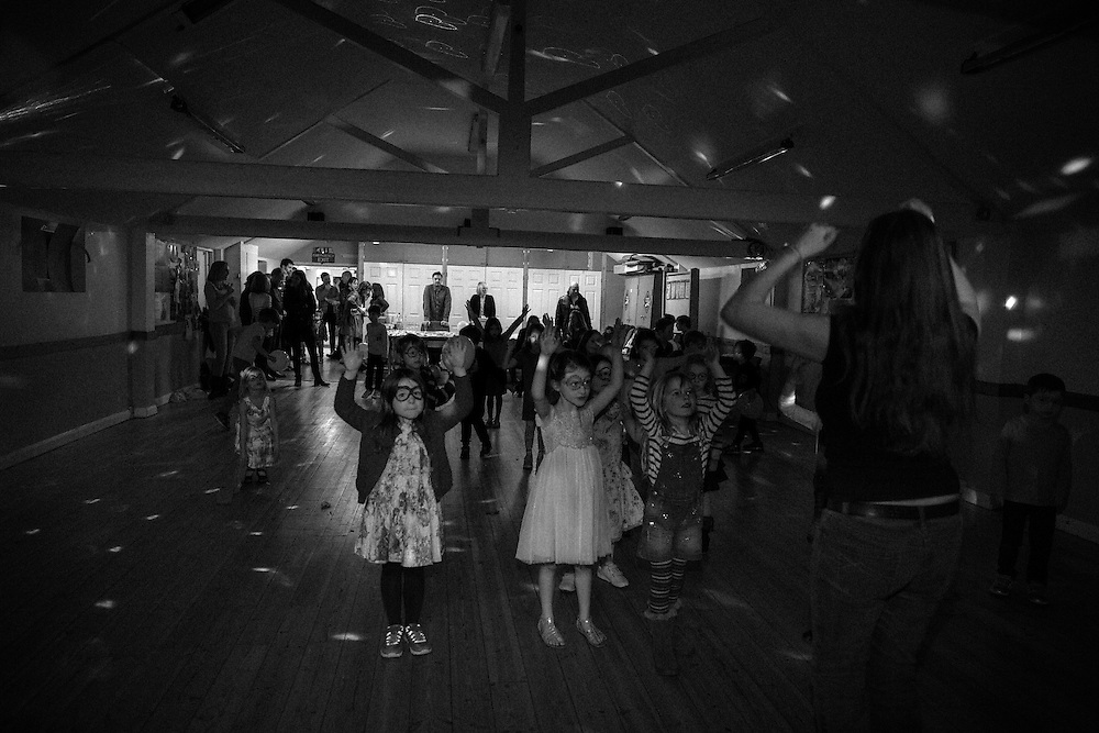Children line dance at a party in Berkhamsted, England  Saturday, Feb. 13, 2016 (Elizabeth Dalziel) #thesecretlifeofmothers #bringinguptheboys #dailylife