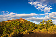 Morning light on Sunset Crater, Sunset Crater National Monument, Arizona USA
