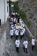 Muro Lucano/Basilicata/Italy - 02/09/2007 - Procession for San Gerardo Maiella, born to Muro Lucano and patron saint of the town and Basilicata Muro Lucano (PZ) 02/09/2007 - Processione di San Gerardo Maiella, protettore di Muro Lucano e della Basilicata.