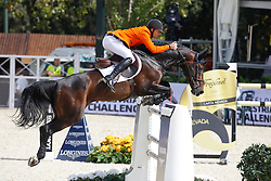 Vrieling Jur (NED) - VDL Bubalu<br /> Furusiyya FEI Nations Cup Jumping Final Round 1<br /> CSIO Barcelona 2013<br /> © Dirk Caremans