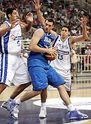 ATENE 21 AGOSTO 2007<br /> BASKET<br /> TORNEO AKROPOLIS<br /> ITALIA-GRECIA<br /> NELLA FOTO: CROSARIOL<br /> FOTO CIAMILLO-CASTORIA