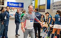 HAMBURG  (Ger) - Match 19,  for bronze , Der Club an der Alster (Ger) - Club Campo de Madrid (Esp) (7-0)  Photo: coach Jens George (Alster) . Club Cup 2019 Women . WORLDSPORTPICS COPYRIGHT  KOEN SUYK