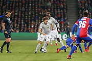 Manchester United Midfielder Daley Blind during the Champions League match between FC Basel and Manchester United at St Jacob-Park, Basel, Switzerland on 22 November 2017. Photo by Phil Duncan.