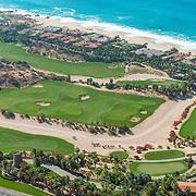 Aerial view of El Dorado Golf & Beach Club. Los Cabos.