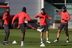 Ander Herrera of Manchester United trains with his team mates - Mandatory by-line: Matt McNulty/JMP - 19/10/2016 - FOOTBALL - Manchester United - Training session ahead of Europa League game against Fenerbahce