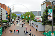 Wembley Way before the Sky Bet League 2 play off final match between AFC Wimbledon and Plymouth Argyle at Wembley Stadium, London, England on 30 May 2016. Photo by Graham Hunt.
