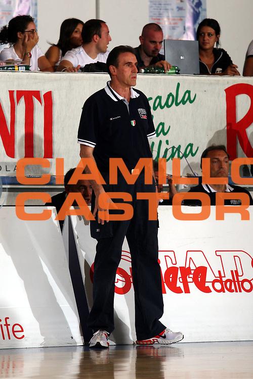 DESCRIZIONE : Bormio Trofeo Internazionale Diego Gianatti Italia Serbia <br />GIOCATORE : Recalcati<br />SQUADRA : Italia <br />EVENTO : Bormio Trofeo Internazionale Diego Gianatti Italia Serbia <br />GARA : Italia Serbia<br />DATA : 22/07/2006 <br />CATEGORIA :  Delusione<br />SPORT : Pallacanestro <br />AUTORE : Agenzia Ciamillo-Castoria/S.Ceretti