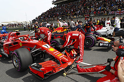April 15, 2018 - Shanghai, China - Shanghai: Motorsports: Formula 1 2018 Heineken Chinese Grand Prix.Chinese Formula One Grand Prix Shanghai Circuit in Shanghai, China.#7 Kimi Raikkonen (FIN, Scuderia Ferrari) (Credit Image: © Hoch Zwei via ZUMA Wire)
