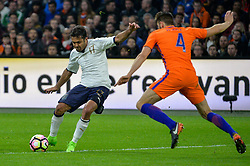 March 28, 2017 - Amsterdam, Netherlands - Eder Citadin Martins from Italy uring the friendly match between Netherlands and Italy on March 28, 2017 at the Amsterdam ArenA in Amsterdam, Netherlands. (Credit Image: © Andy Astfalck/NurPhoto via ZUMA Press)