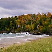 """Autumn Winds""<br /> <br /> A beautiful autumn scene along Lake Superior!"