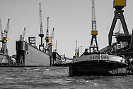 Hafenrundfahrt in Hamburg<br /> <br /> *** Travel Features of the Port of Hamburg, Germany ***