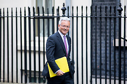 © Licensed to London News Pictures. 16/01/2018. London, UK. Minister of State for Europe and the Americas Sir Alan Duncan arriving at Downing Street. Photo credit : Tom Nicholson/LNP