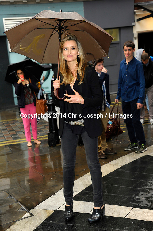 Image ©Licensed to i-Images Picture Agency. 08/07/2014. London, United Kingdom. Natascha McElhorne during the press night for 'The Curious Incident Of The Dog In The Night-Time' at Gielgud Theatre. Picture by Chris Joseph / i-Images