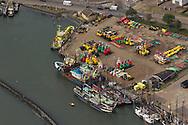 Luchtfoto's van Terschelling tijdens Oerol (maandag 17-6-2013)