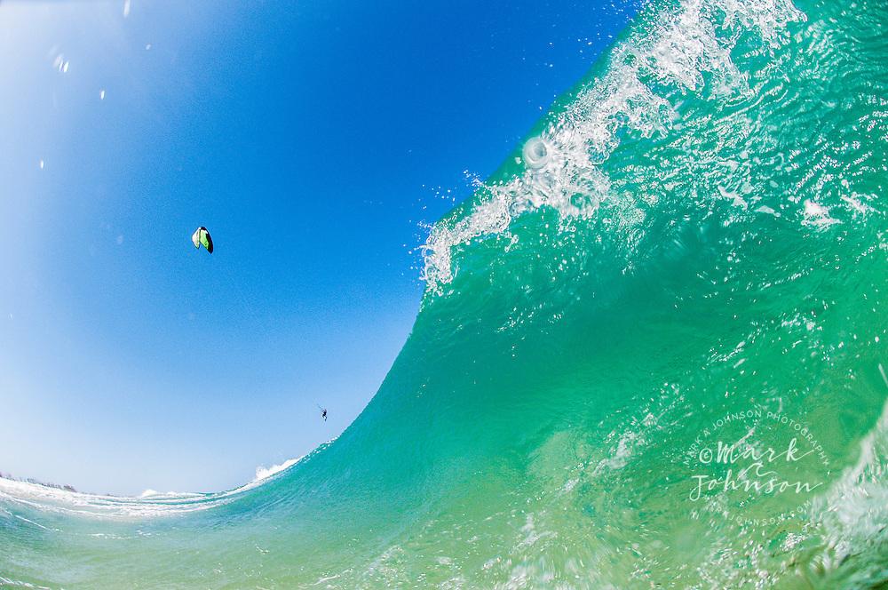 Kitesurfing, Main Beach, Gold Coast, Queensland, Australia