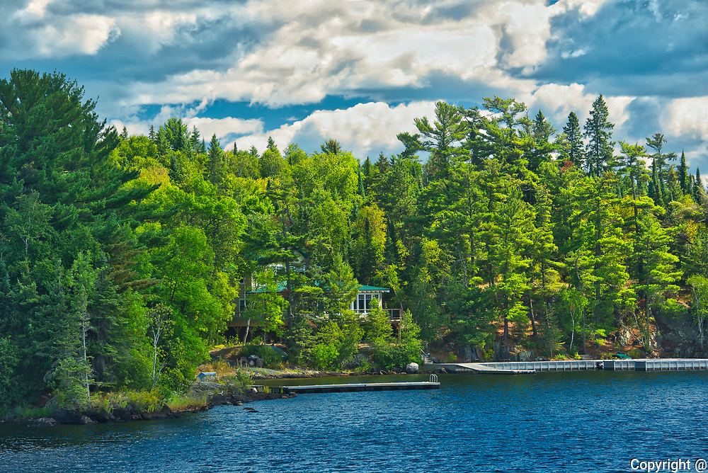 Cottage on Lake of the Woods<br />Kenora<br />Ontario<br />Canada