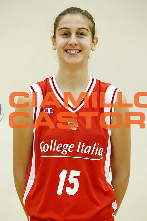 DESCRIZIONE : Roma Acqua Acetosa College Italia Lega A2 Donne<br /> GIOCATORE : Elisa Penna<br /> SQUADRA : College Italia<br /> EVENTO : Lega Basket Femminile A2 stagione 2010-2011<br /> GARA : <br /> DATA : 01/11/2010 <br /> CATEGORIA : ritratto<br /> SPORT : Pallacanestro <br /> AUTORE : Agenzia Ciamillo-Castoria/ElioCastoria<br /> Galleria : Fip Nazionali 2010 <br /> Fotonotizia : Roma Acqua Acetosa College Italia Lega A2 Donne<br /> Predefinita :