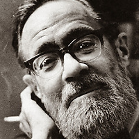 John Berryman, American poet and scholar. Photographed at his office in Minneapolis. Date unknown<br /> <br /> Picture by Tom Berthiaume/Writer Pictures