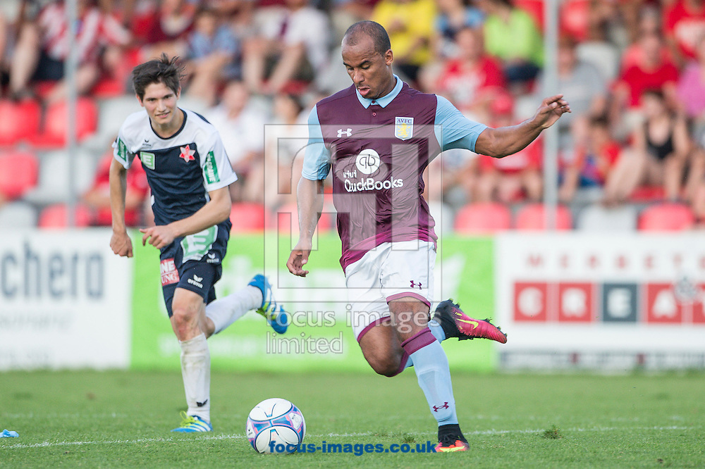 Gabby Agbonlahor of Aston Villa during the pre season friendly match at Sportcentre Weinzoedl, Graz, Austria.<br /> Picture by EXPA Pictures/Focus Images Ltd 07814482222<br /> 09/07/2016<br /> *** UK &amp; IRELAND ONLY ***<br /> EXPA-IES-160709-0030.jpg
