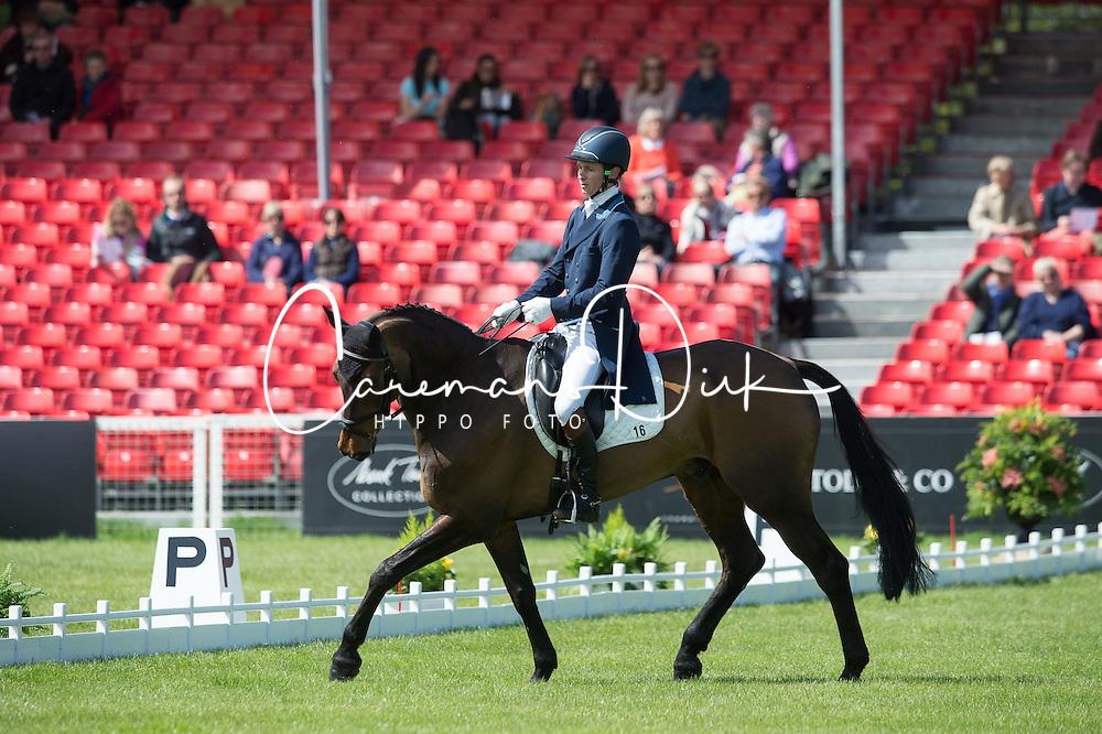 Whittington Francis, (GBR), Fernhill Highlight<br /> Dressage <br /> Mitsubishi Motors Badminton Horse Trials - Badminton 2015<br /> &copy; Hippo Foto - Jon Stroud<br /> 07/05/15