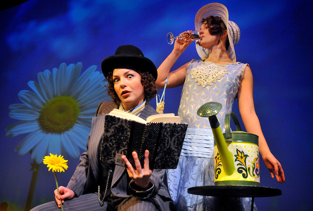"""Bag & Baggage's production of """"Importance of Being Ernest"""" in March 2009. (photo by Casey Campbell)"""